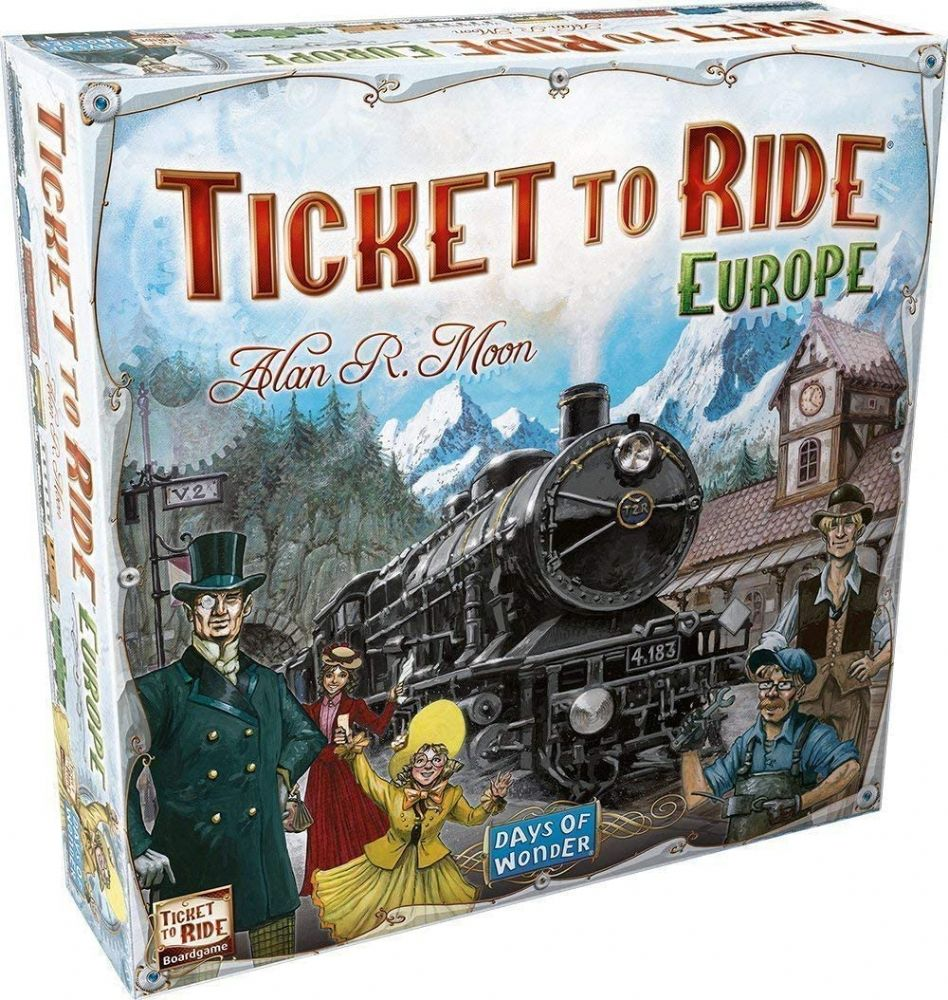 Days of Wonder Ticket to Ride Europe Boardgame